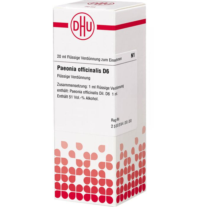 PAEONIA OFFICINALIS D 6 Dilution