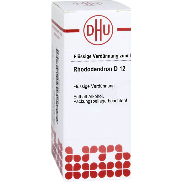 RHODODENDRON D 12 Dilution