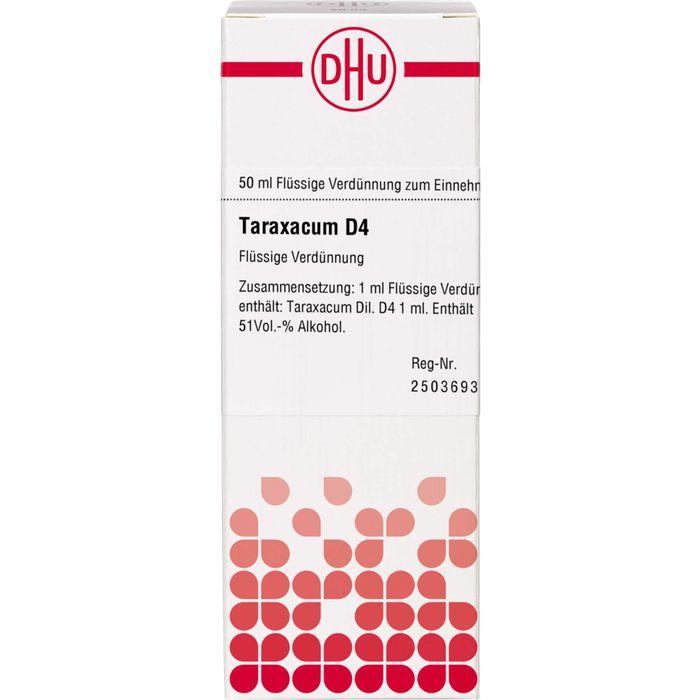 TARAXACUM D 4 Dilution