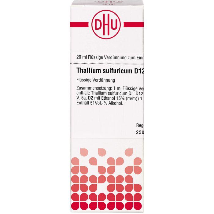 THALLIUM SULFURICUM D 12 Dilution