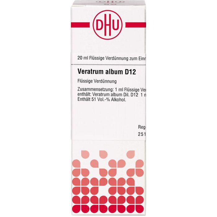 VERATRUM ALBUM D 12 Dilution