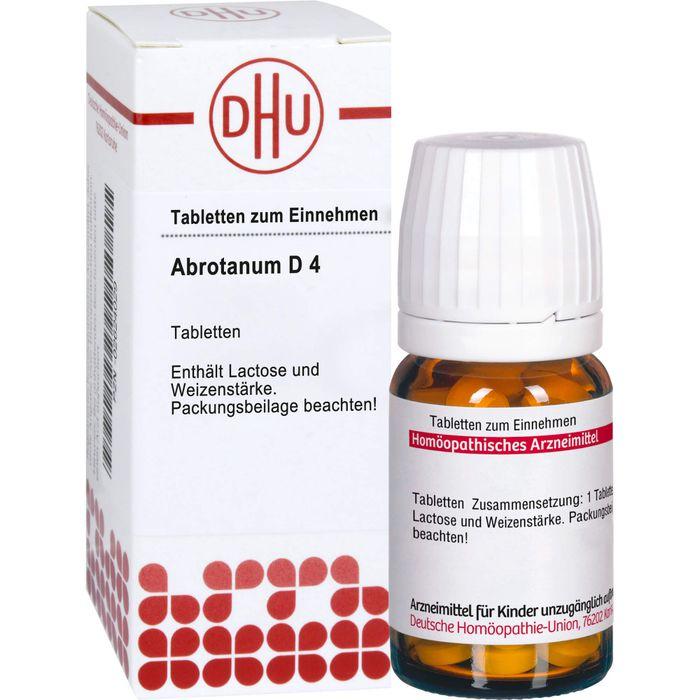 ABROTANUM D 4 Tabletten