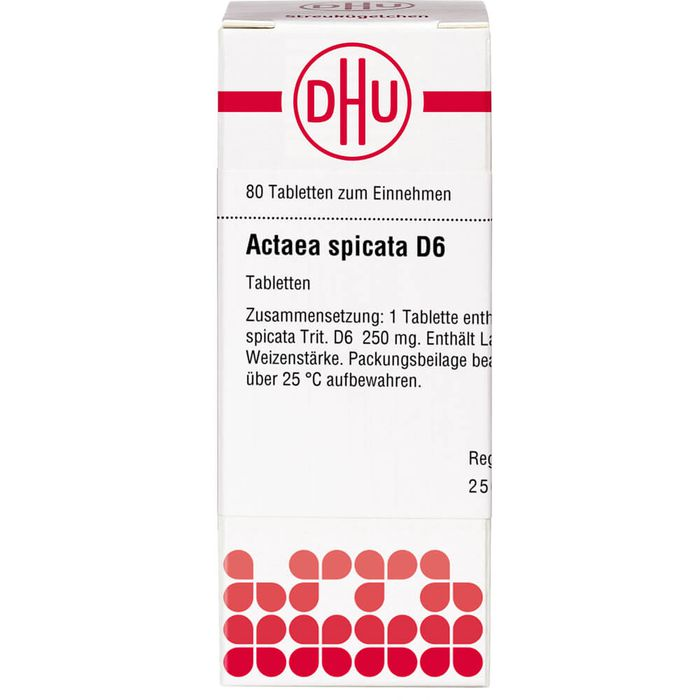 ACTAEA SPICATA D 6 Tabletten