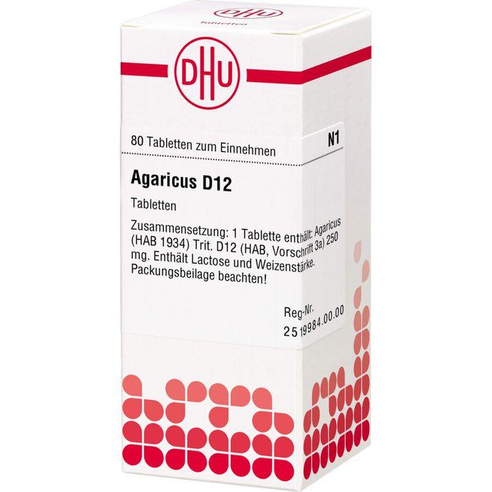 AGARICUS D 12 Tabletten