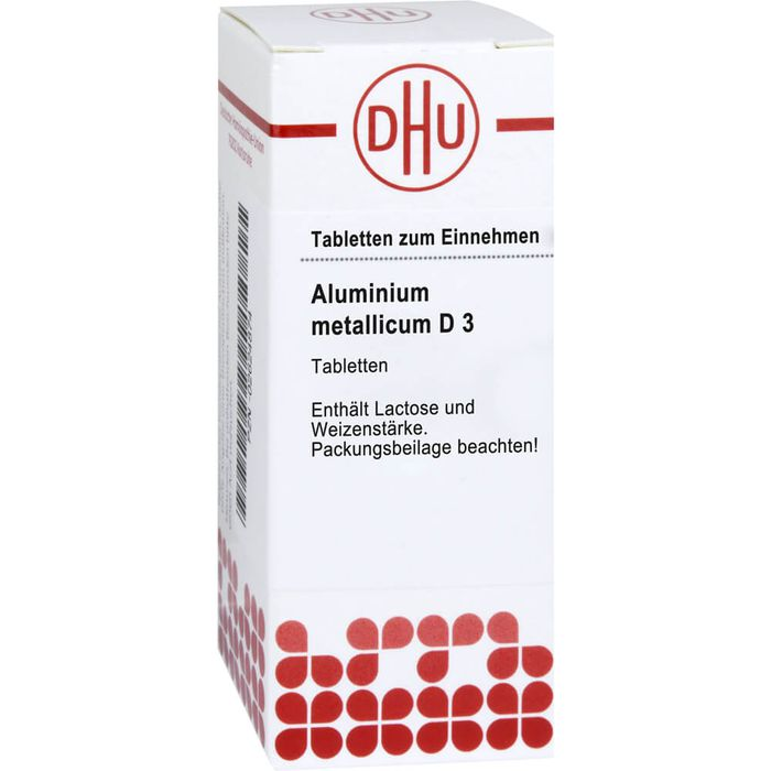 ALUMINIUM METALLICUM D 3 Tabletten