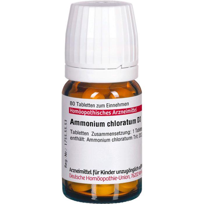 AMMONIUM CHLORATUM D 3 Tabletten