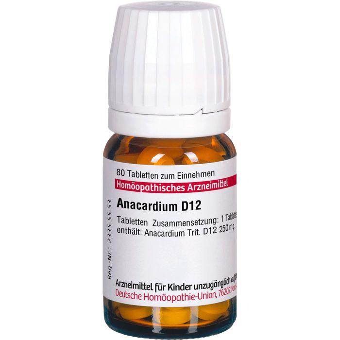 ANACARDIUM D 12 Tabletten