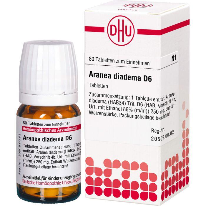 ARANEA DIADEMA D 6 Tabletten