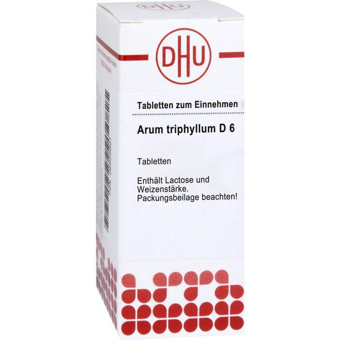ARUM TRIPHYLLUM D 6 Tabletten
