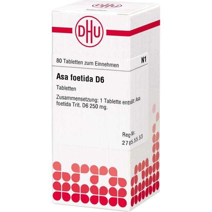 ASA FOETIDA D 6 Tabletten