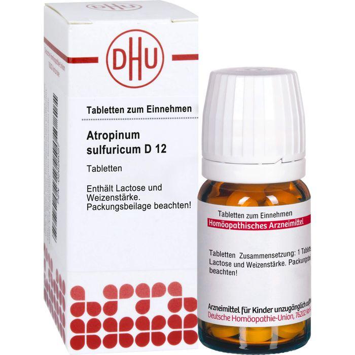 ATROPINUM SULFURICUM D 12 Tabletten