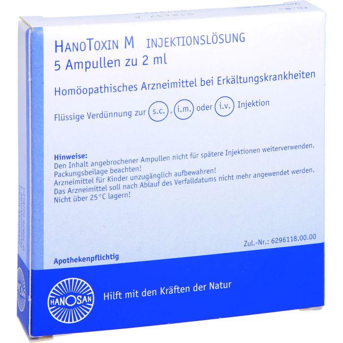 HANOTOXIN M Injektionslösung