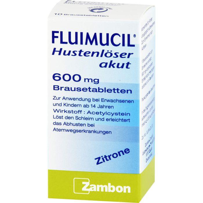 FLUIMUCIL Hustenlöser akut 600 Brausetabletten