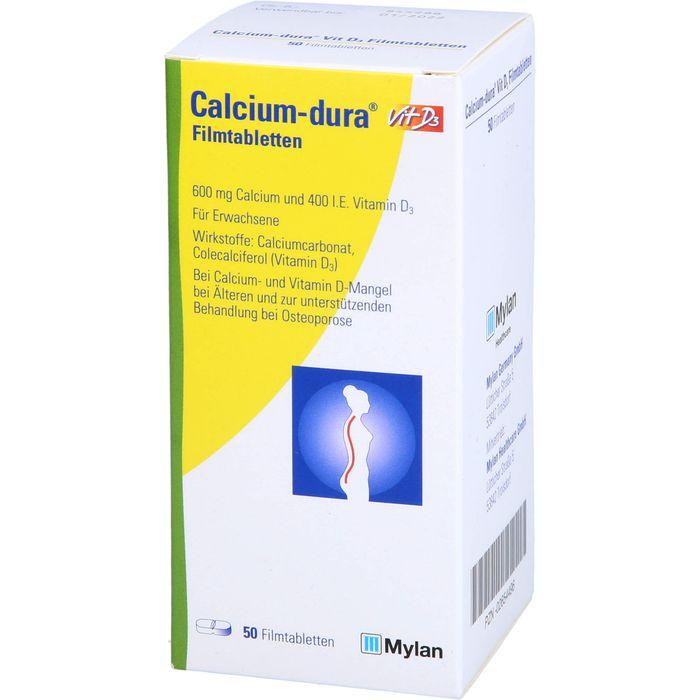 CALCIUM DURA Vit D3 Filmtabletten
