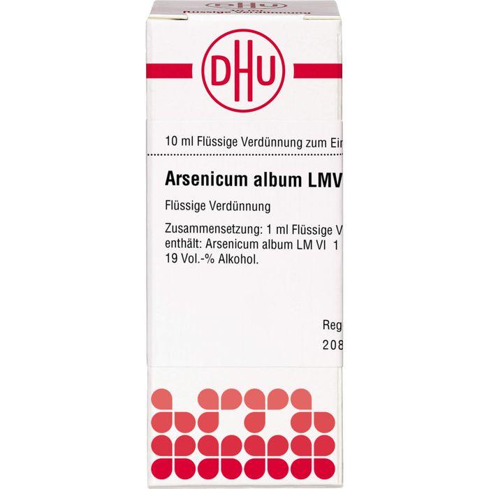 ARSENICUM ALBUM LM VI Dilution