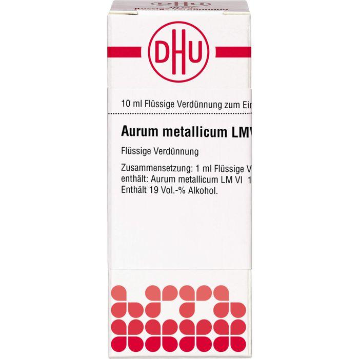 AURUM METALLICUM LM VI Dilution