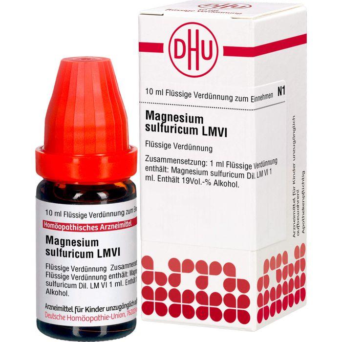 MAGNESIUM SULFURICUM LM VI Dilution