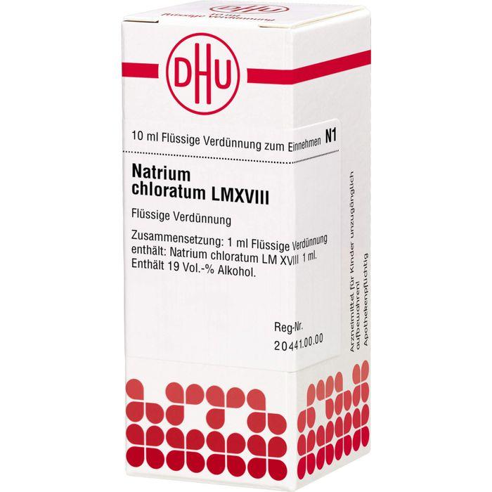 NATRIUM CHLORATUM LM XVIII Dilution