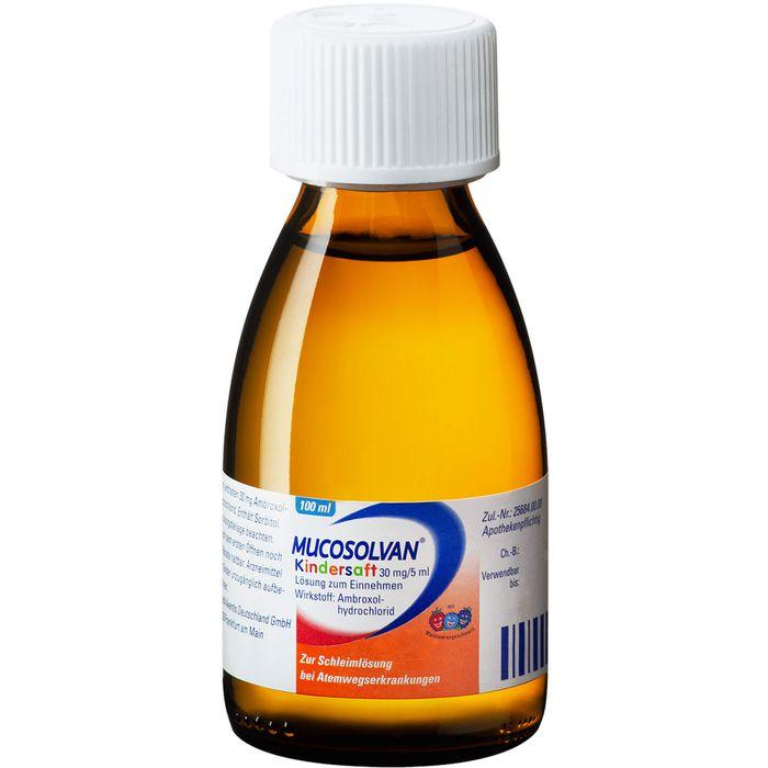 MUCOSOLVAN Kindersaft 30 mg/5 ml