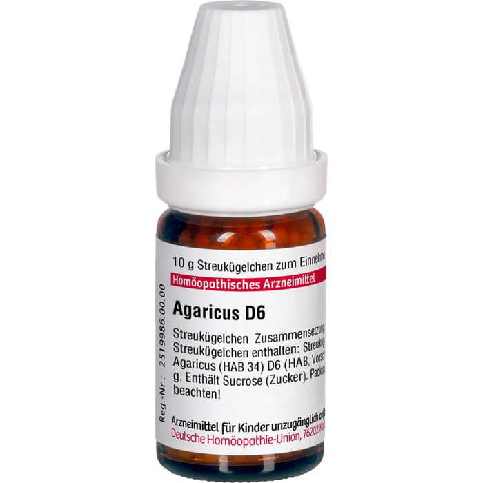 AGARICUS D 6 Globuli