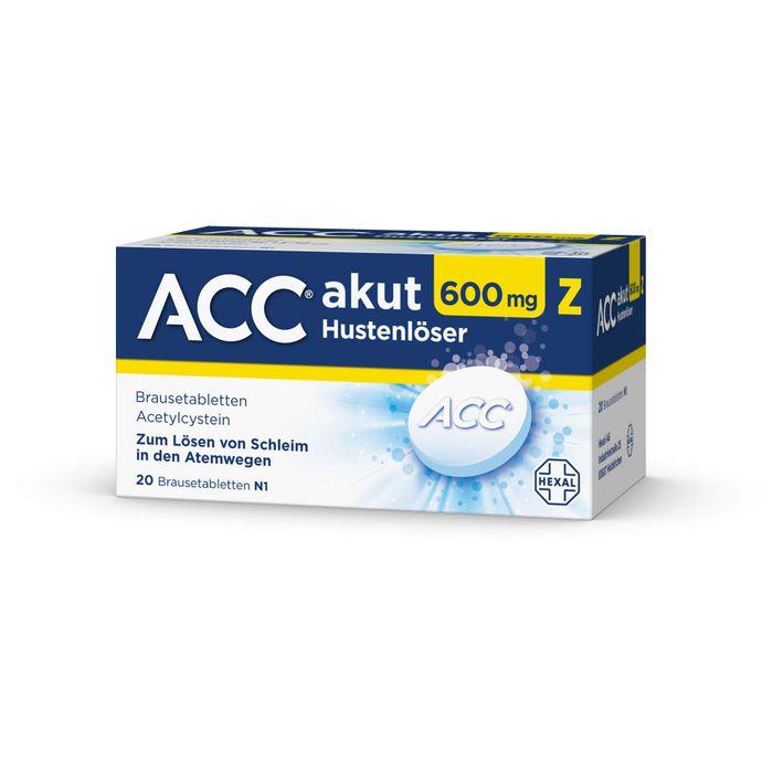 ACC akut 600 Z Hustenlöser Brausetabletten