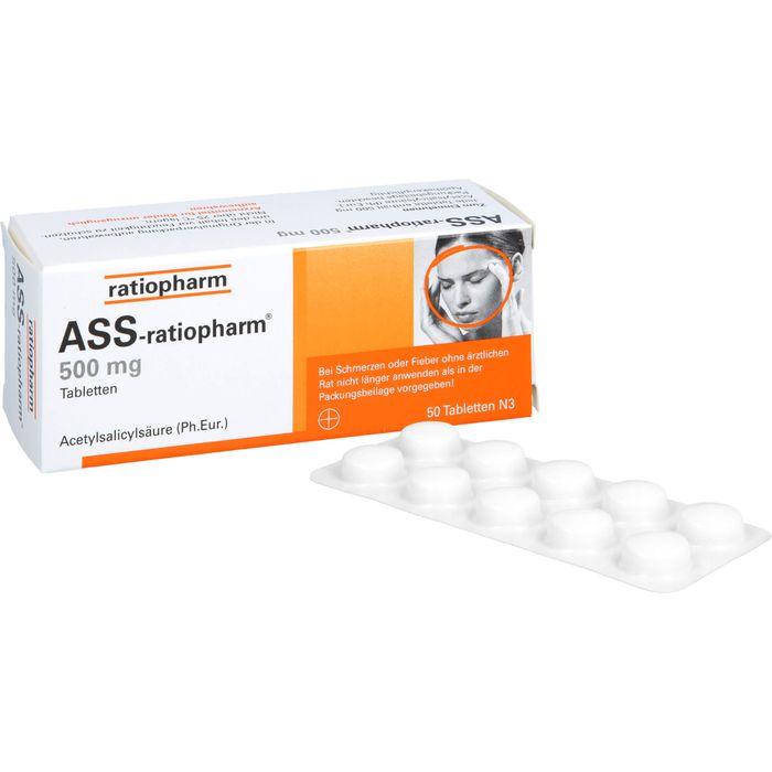 ASS-ratiopharm 500 mg Tabletten