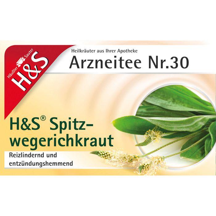 H&S Spitzwegerichkraut Filterbeutel