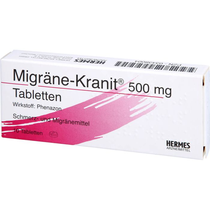 MIGRÄNE KRANIT 500 mg Tabletten