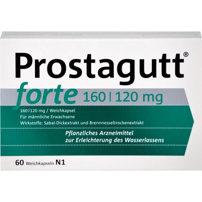 PROSTAGUTT forte 160/120 mg Weichkapseln