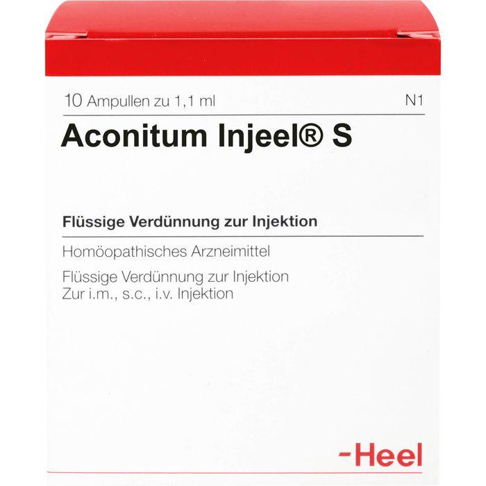 ACONITUM INJEEL S Ampullen