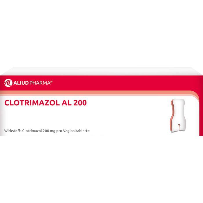 CLOTRIMAZOL AL 200 Vaginaltabletten