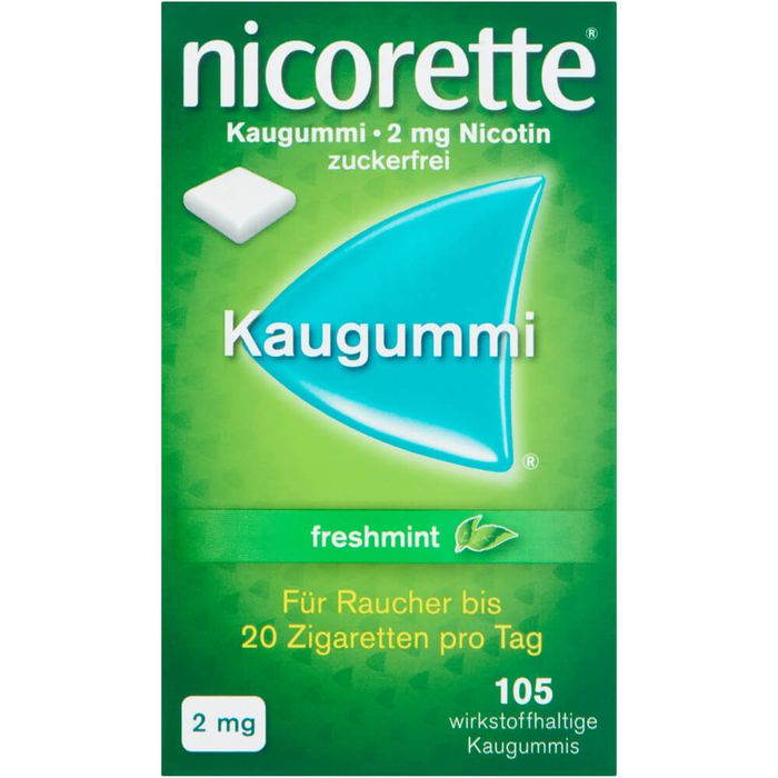 NICORETTE 2 mg freshmint Kaugummi