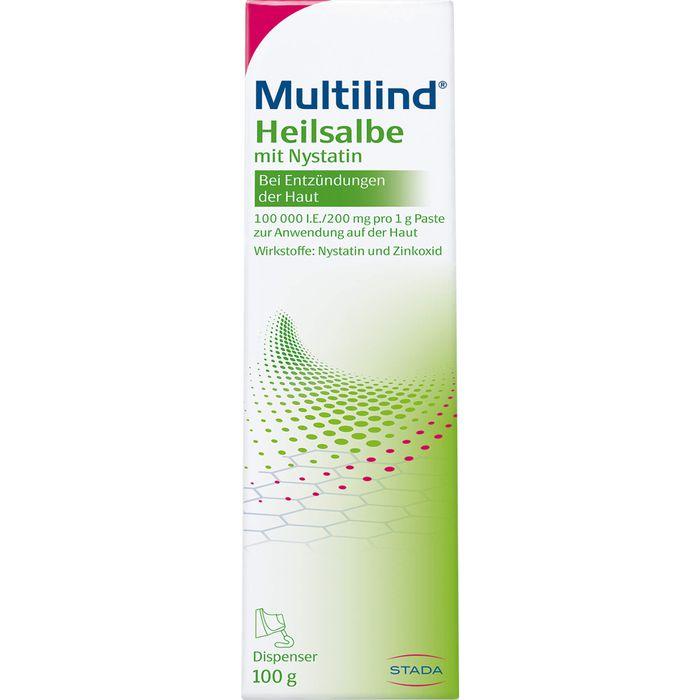 MULTILIND Heilsalbe m.Nystatin u.Zinkoxid