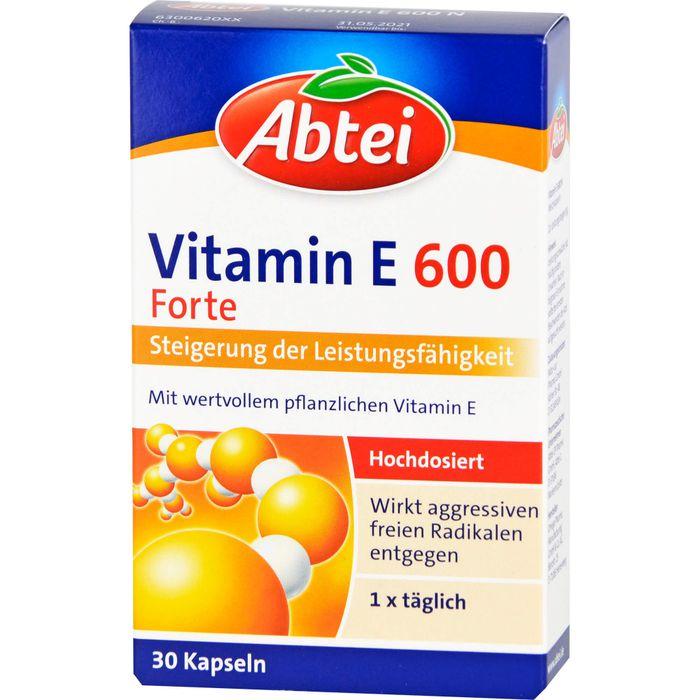 ABTEI Vitamin E 600 N Kapseln