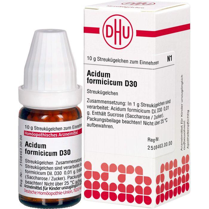 ACIDUM FORMICICUM D 30 Globuli