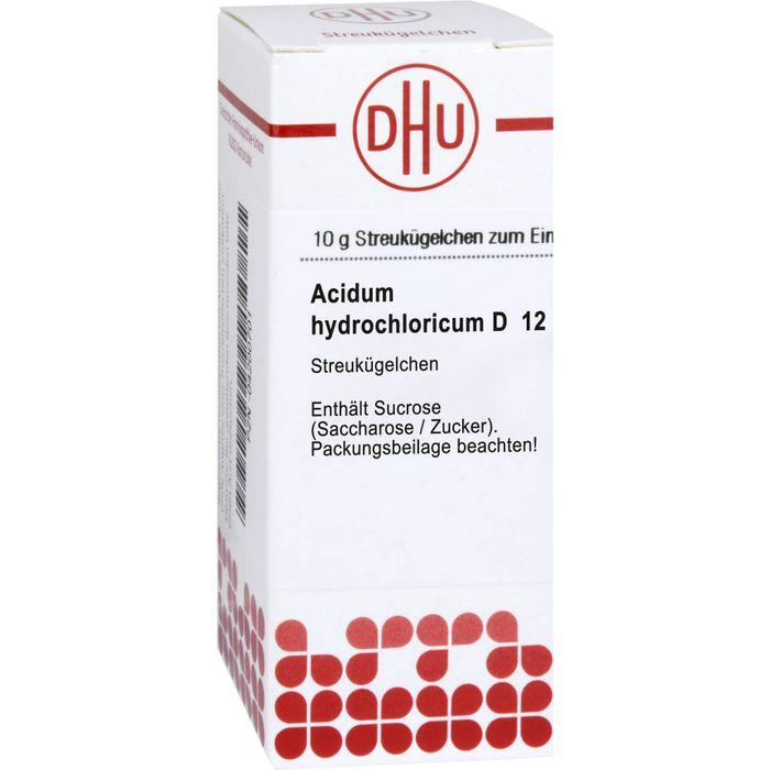 ACIDUM HYDROCHLORICUM D 12 Globuli