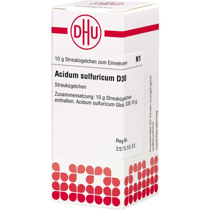ACIDUM SULFURICUM D 30 Globuli