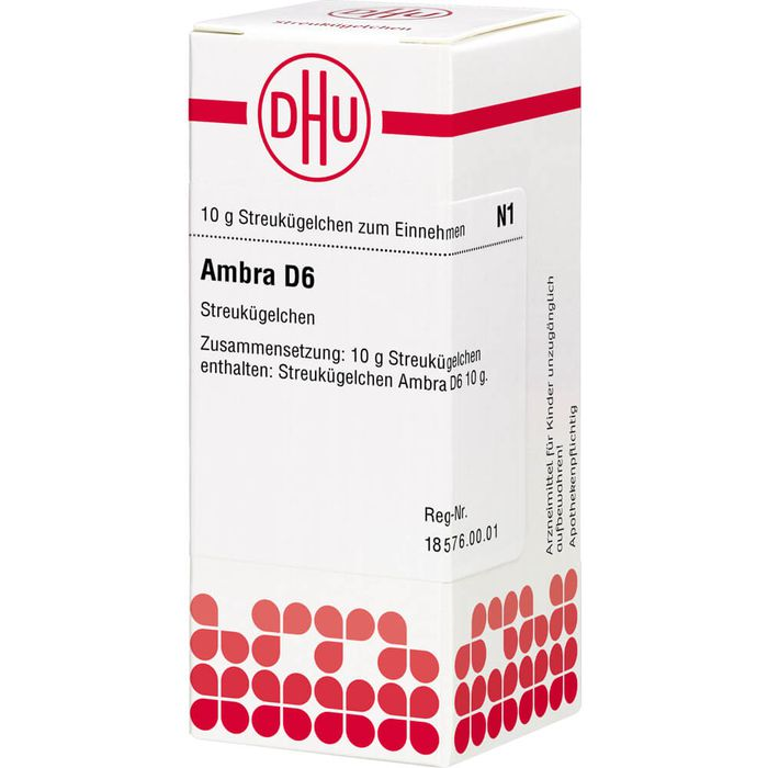 AMBRA D 6 Globuli