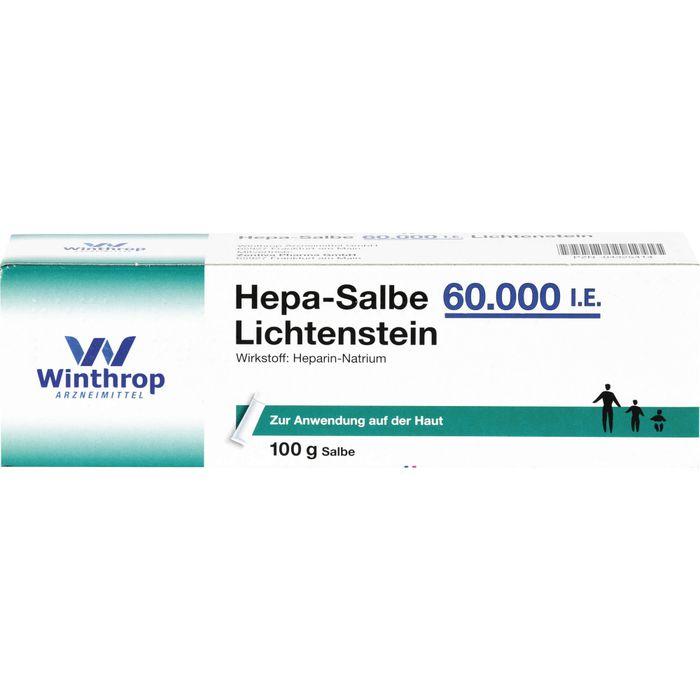 HEPA SALBE 60.000 I.E. Lichtenstein