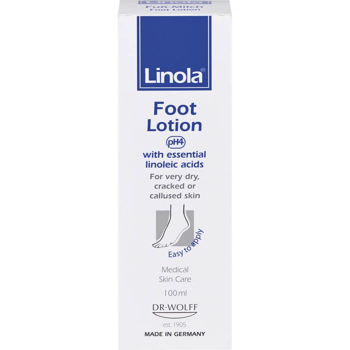 LINOLA Fuß-Milch