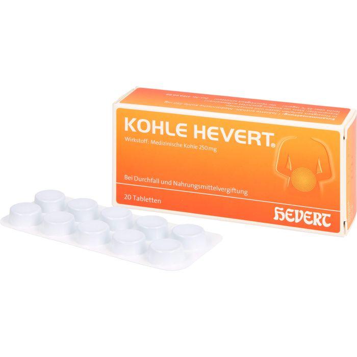 KOHLE Hevert Tabletten