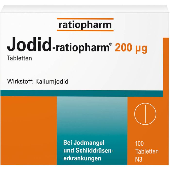 JODID-ratiopharm 200 μg Tabletten
