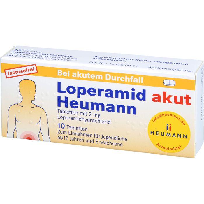 LOPERAMID akut Heumann Tabletten