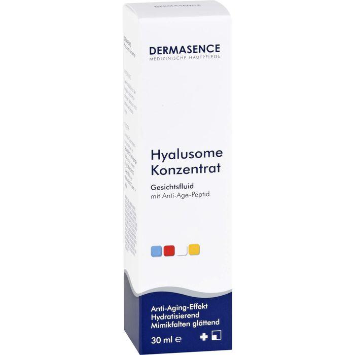 DERMASENCE Hyalusome Konz.Gesichtsfluid