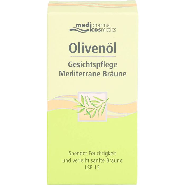 Medipharma Cosmetics OLIVENÖL Gesichtspflege Creme mediterrane Bräune