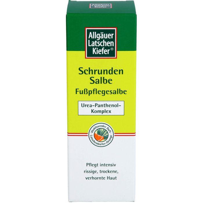 Allgäuer Latschenkiefer Schrundensalbe LK-Orange