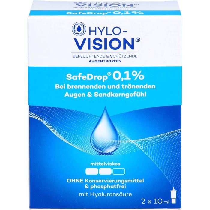 HYLO-VISION SafeDrop 0,1% Augentropfen