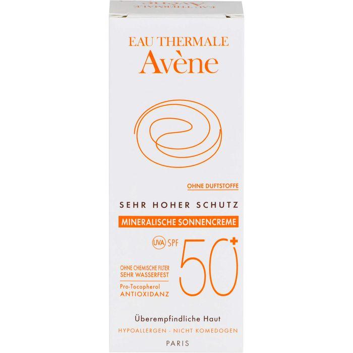AVENE Mineralische Sonnencreme SPF 50+