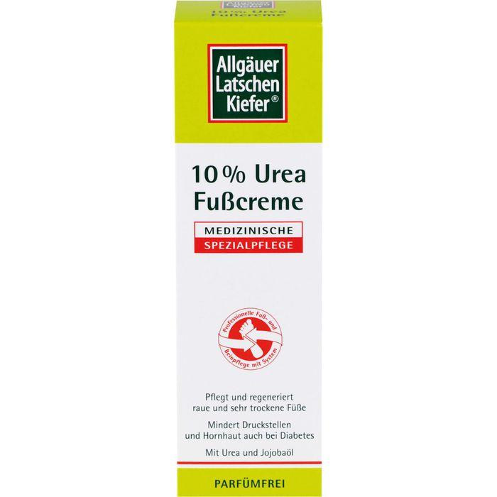 Allgäuer Latschenkiefer 10% Urea Fußcreme