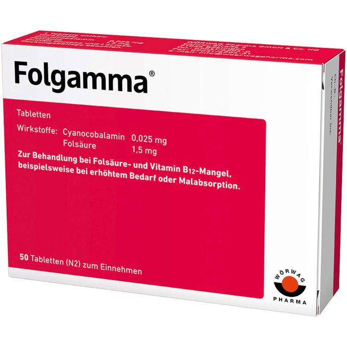 FOLGAMMA Tabletten